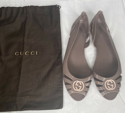 AU267.25 • Buy Gucci Jelly Shoes Size 38 Women