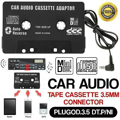 £2.69 • Buy Car Audio Adapter Tape Cassette Mp3 CD Radio 3.5mm Jack AUX For IPod IPhone