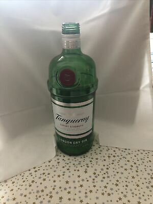 £2.80 • Buy Tanqueray 1 Litre Gin Bottle. Empty Without Lid Washed And Clean