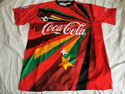 £5 • Buy Coca Cola Fifa World Cup South Africa Football T Shirt XXL