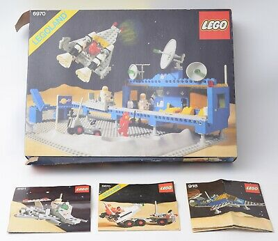 £165 • Buy Lego Beta-1 Command Base 6970 + 918 Space Transport 891 Scooter 6870 Space Probe