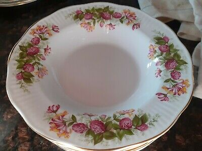 £35 • Buy Queens Rosina China Co Ltd    6 Cereal Bowls