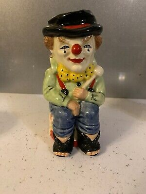 £34.99 • Buy Royal Doulton Small Character Toby Jug The Clown D6935 Stanley J Taylor