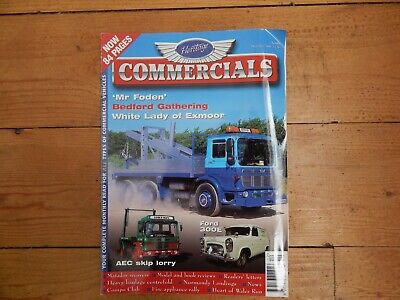 £0.99 • Buy Heritage Commercials Magazine December 2004 Ford 300e Manchester Aec Skip Lorry