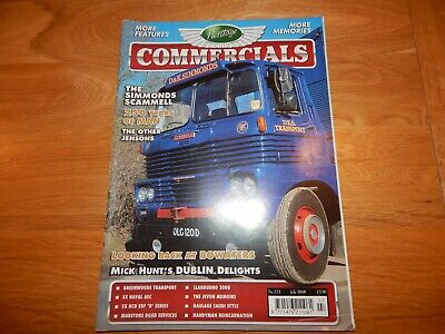 £0.99 • Buy Heritage Commercials Magazine July 2008 Aec Mammoth Major Erf B Series Scammell