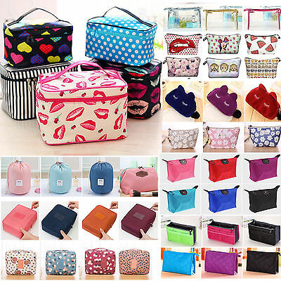 £4.69 • Buy Large Cosmetic Make Up Travel Wash Toiletry Bags Pouch Organizer Handbag Storage