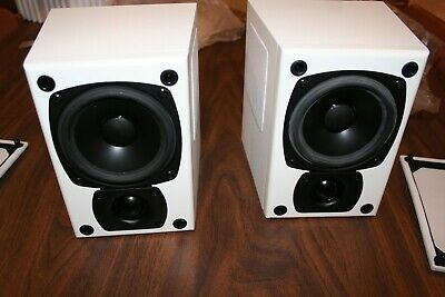 $500 • Buy M&K K-4 Tripole® Left And Right Speakers  Made In USA  White **New In Box**
