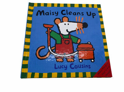 $5.99 • Buy Maisy Cleans Up By Lucy Cousins Weekly Reader Hardcover 2003 Edition New
