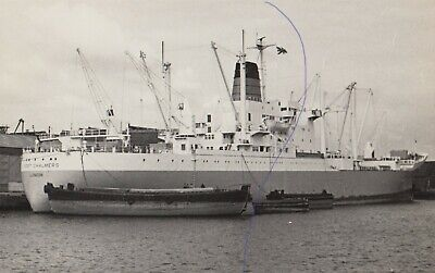 £0.75 • Buy Ship Photo Vintage Cargo Vessel 'port Chalmers' Shipping Photograph Picture.