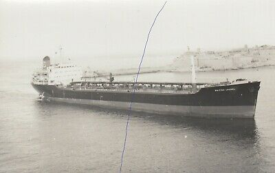 £1.25 • Buy Ship Photo Of A Cargo Shipping Photograph Picture 'british Laurel' Oil Tanker.