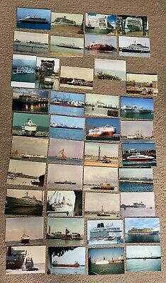 £2.50 • Buy 41 Ship Photos Ferry,cruise Liner Photograph Shipping Pictures Cargo,navy Vessel