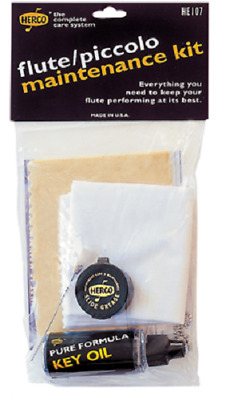 AU39.99 • Buy Herco Flute And Piccolo Maintenance Kit