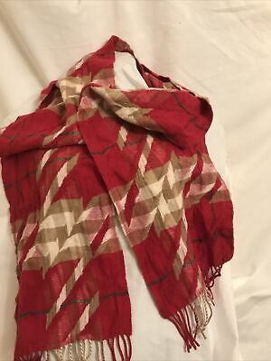 £95 • Buy Red Burberry Cashmere Scarf