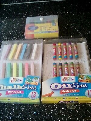 £5 • Buy Children's Colouring Sets And Jumbo Coloured Crayons
