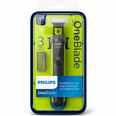 £23.99 • Buy Philips QP2520/25 One Blade Wet Dry Facial Hair Trimmer Shaver