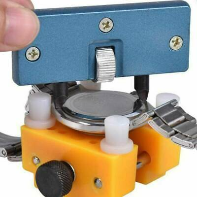 £3.19 • Buy Adjustable Watch Repair Tool Kit Back Case Opener Cover Remover Screw Wrench Kit