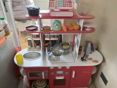 £30 • Buy Early Learning Centre Red Wooden Diner Kitchen
