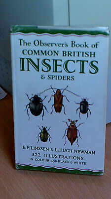 £9.99 • Buy The Observers Book Of Common British Insects. 1953. Code 253.853. 1st Ed Reprint