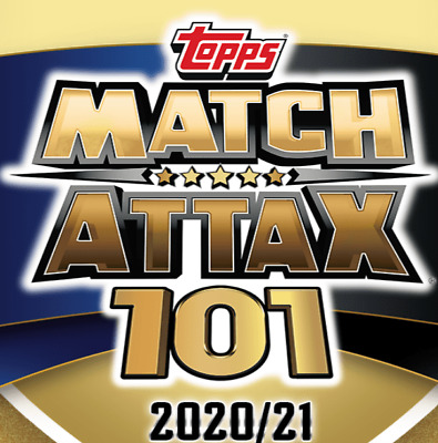 £1.63 • Buy Topps Match Attax 101: 2020/21 - Individual Base (Countdown / Manager) Cards