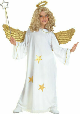£11.99 • Buy Girls Star Angel Costume Fancy Dress Outfit Nativity Christmas Play Age 11-13yrs