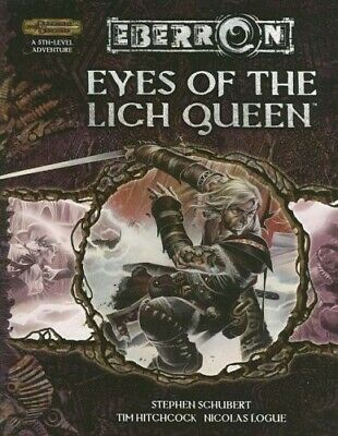AU63 • Buy Eyes Of The Lich Queen (Dungeons & Dragons D20 3.5 Fantasy Roleplaying, Eberron