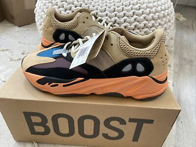 $ CDN398.42 • Buy Adidas Yeezy Boost 700 Enflame Amber Size 9.5 GW0297 In Hand