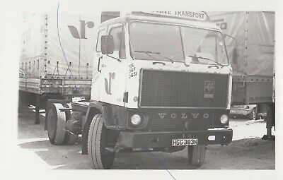 £0.75 • Buy Radclive Transport Volvo Truck Photograph Hgc383n On Picture Artic Lorry Photo.