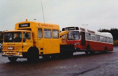 £1.25 • Buy Aec Towing Vehicle Photo National Welsh Lorry Photograph Truck Leyland National.