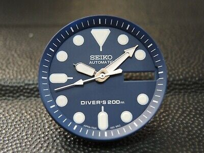 $ CDN22.66 • Buy New Replacement Blue Dial,minute Track & Hands Will Fit Seiko Skx013 Diver's