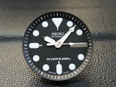 $ CDN22.66 • Buy New Replacement Black Dial,minute Track & Hands Will Fit Seiko Skx013 Diver's