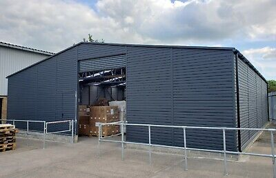 £23500 • Buy Big Semi-Industrial Unit 42ft X 46ft Pretty Storage Shed Warehouse Commercial
