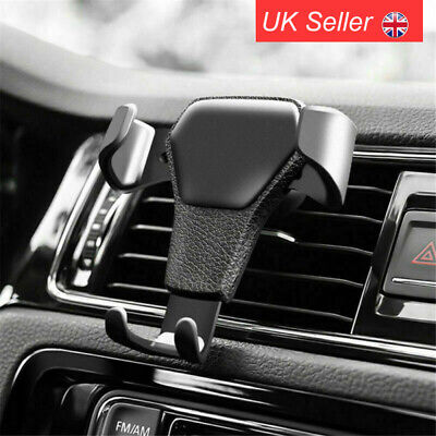 £4.29 • Buy Car Phone Holder Air Vent Mount Stand Navigator Bracket For IPhone XS 11 Pro Max