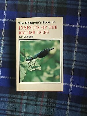 £8.99 • Buy The Observers Book Of Insects