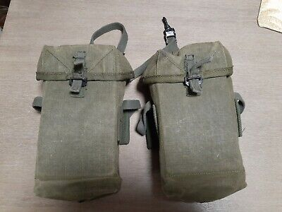 $90.21 • Buy Original Australian Army M1956 Amo Pouches Unissued In Mint Condition Obsolete