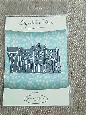 £4 • Buy Joanna Sheen Signature Dies  Cathedral