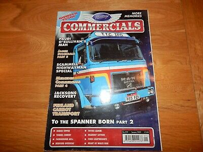 £0.99 • Buy Heritage Commercials Magazine January 2009 Dodge Tipper Truck Man Lorry