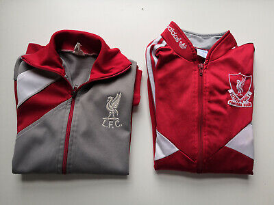 £100 • Buy Original Vintage Liverpool 1985/86 And 1987/88 Tracksuit Top By Adidas.