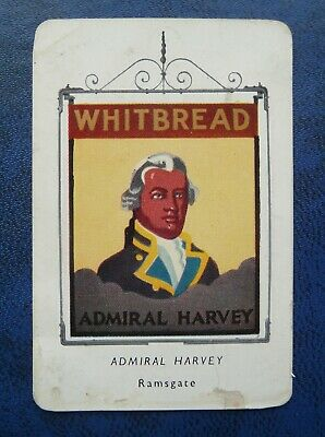 £6 • Buy Whitbread Inn Signs   FIFTH SERIES   No 1     THE ADMIRAL HARVEY