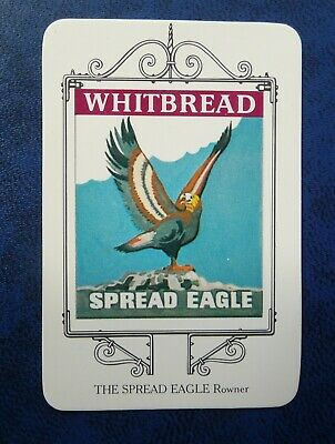 £1 • Buy Whitbread Inn Signs  PORTSMOUTH SERIES No 8  THE  SPREAD EAGLE