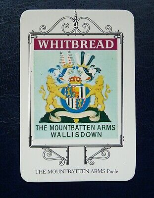 £1 • Buy Whitbread Inn Signs Bournemouth Series No 7   THE MOUNTBATTEN ARMS