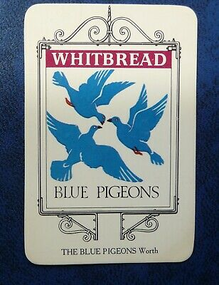 £1 • Buy Whitbread Inn Signs  THE KENT SERIES No 5   THE  BLUE PIGEONS