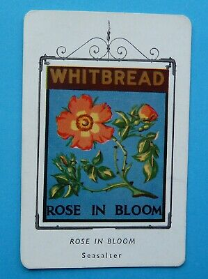 £2 • Buy Whitbread Inn Signs  Third Series Card  No 29  THE ROSE IN BLOOM