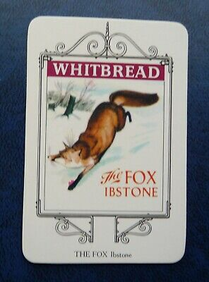 £1 • Buy Whitbread Inn Signs  THE MARLOW SERIES  No 1  THE  FOX