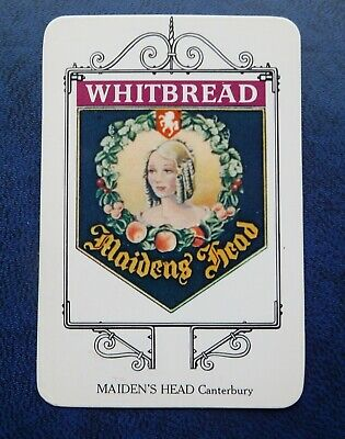 £1 • Buy Whitbread Inn Signs  THE KENT SERIES No 19  THE MAIDENS HEAD