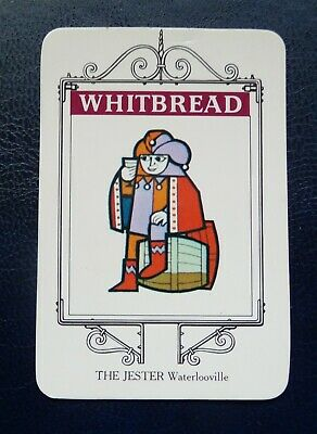 £1 • Buy Whitbread Inn Signs  Portsmouth Series No 15     THE JESTER