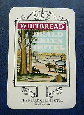 £1.50 • Buy Whitbread Inn Signs  THE WEST PENNINES SERIES No 2  THE HEALD GREEN HOTEL
