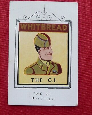 £2.50 • Buy Whitbread Inn Signs  1951 Special Series Of 4 No 3 THE G I