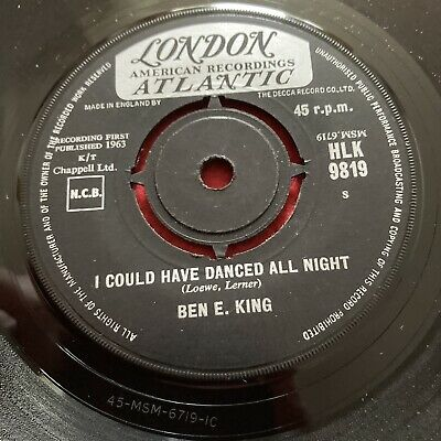 £6.99 • Buy Ben E King  London 45 HLK 9819 Gypsy, I Could Have Danced All Night VG+
