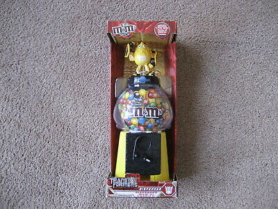 $14.99 • Buy M&m's- Yellow M&m Transformer Candy Dispenser-  New In Box-  Excell Cond