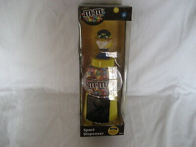 $14.99 • Buy M&m's-  M&m Yellow Guy Diving Gumball Style Candy Dispenser- New In Box